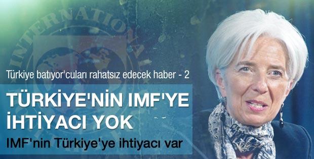 IMF Başkanı Lagarde: Türkiye'ye ihtiyacımız var