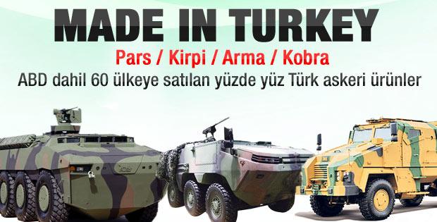 Türk savunma sanayisi dünyaya üretim yapıyor