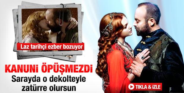 Kanuni Sultan Süleyman öpüşmezdi