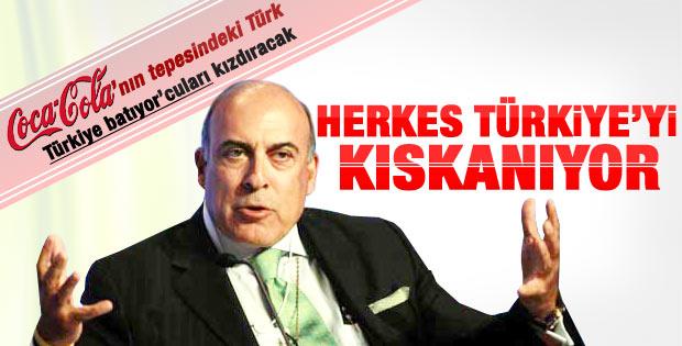 Muhtar Kent: Herkes Türkiye'yi kıskanıyor