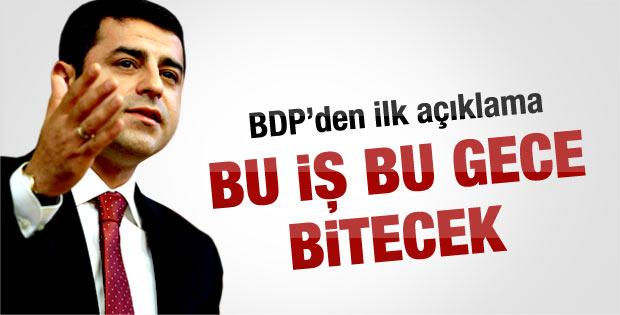 Öcalan'ın çağrısıyla ilgili BDP'den ilk açıklama