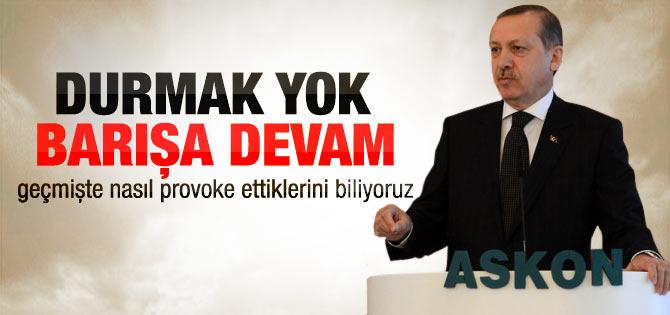 Başbakan ASKON'da konuştu