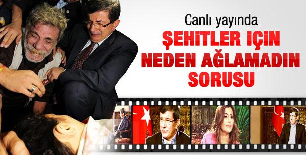 Davutoğlu'na neden Şehit cenazesinde yoksun sorusu