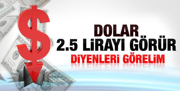 Dolar TL karşısında son bir yılın en düşük düzeyinde