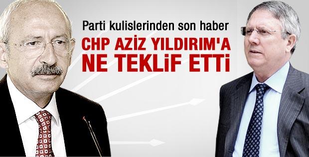 Kılıçdaroğlu Aziz Yıldırım'a ne teklif etti