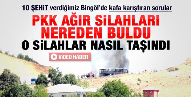 PKK silahları nereden buldu nasıl taşıdı