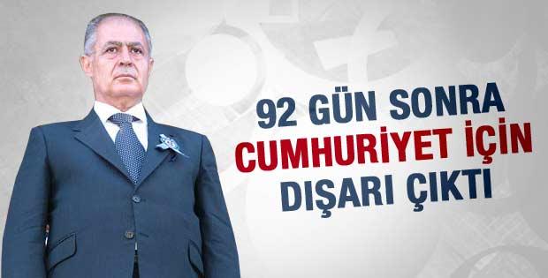 Ahmet Necdet Sezer 92 gün sonra haber oldu