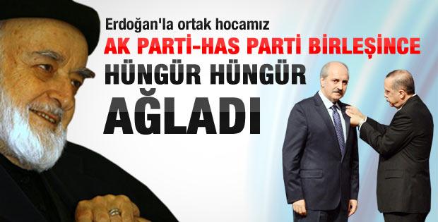 AKP Has Parti birleşmesine hüngür hüngür ağlayan Hoca