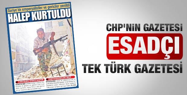 Yurt gazetesinden Esad'a destek haberi