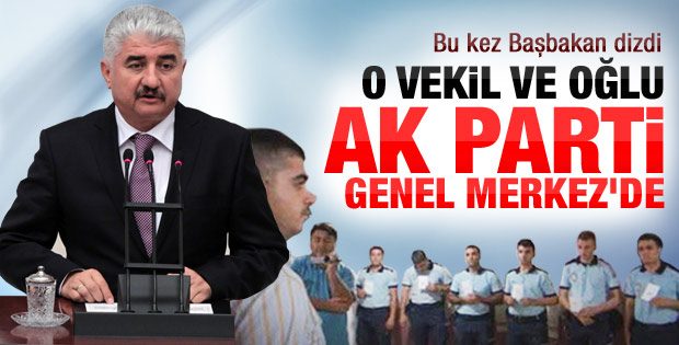 Milletvekili  Türkoğlu AK Parti Genel Merkezi'nde