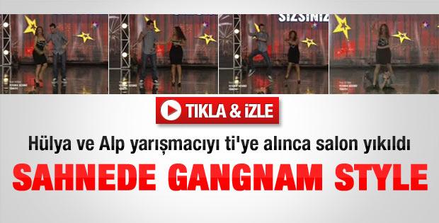Hülya Avşar ve Alp Kırşan'dan Gangnam Stye - izle