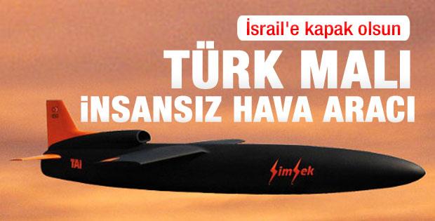 Türk İHA'sı Şimşek ilk kez havalandı