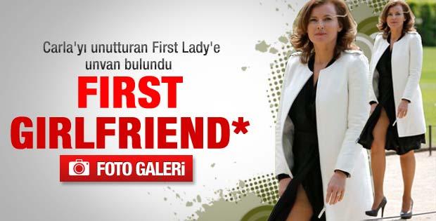 Fransa'nın yeni first lady'sine unvan bulundu