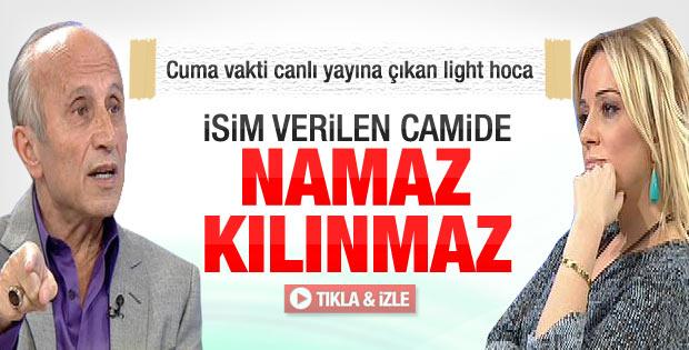 Yaşar Nuri: İsim verilen camilerde namaz kılınmaz