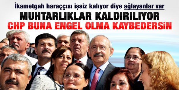 Kılıçdaroğlu'ndan muhtarlara söz: Sizin için direneceğiz