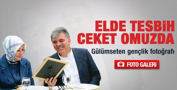 Abdullah Gül'e arkadaşından fotoğraf sürprizi - Galeri