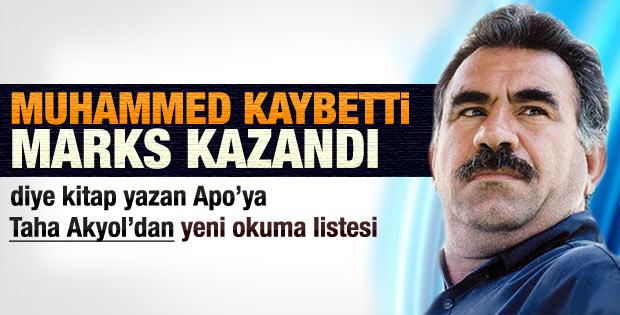 Taha Akyol'dan Öcalan'a yeni kitap okuma listesi