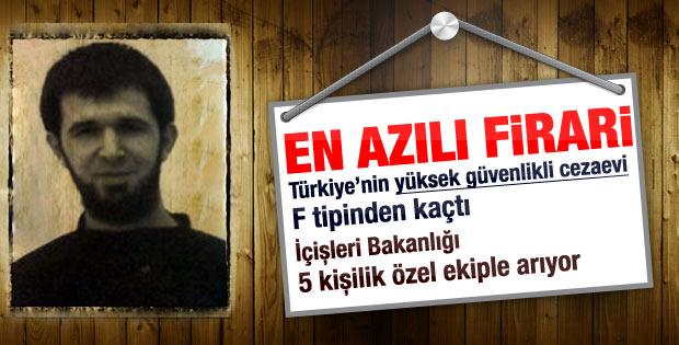 Türkiye'nin en çok aranan firari suçlusu için özel ekip