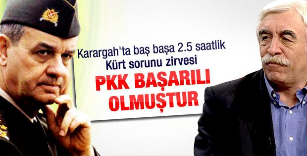 Çandar ve Başbuğ'un iki saatlik Kürt sorunu zirvesi
