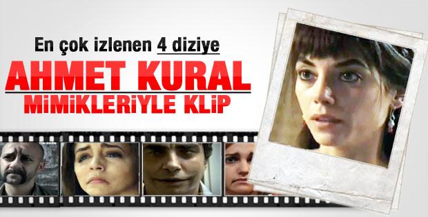 Dizi oyuncularına Ahmet Kural mimikleri - Video
