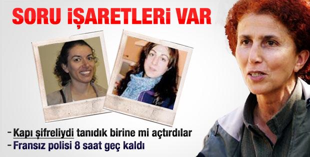 Paris'te 3 kadın PKK'lının öldürülmesinin detayları