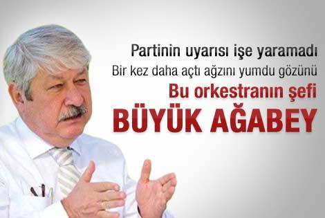Mustafa Akaydın'dan yeni salvolar
