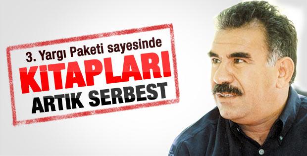 Abdullah Öcalan'ın kitapları artık serbest