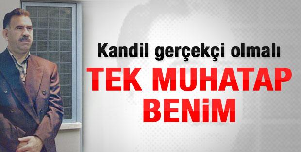 Abdullah Öcalan: Muhatap Kandil değil benim
