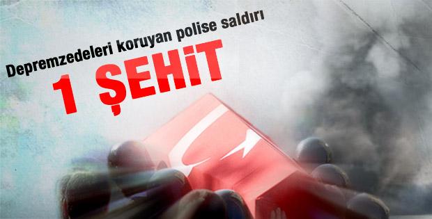 Van'da polise saldırı: 1 şehit