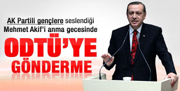 Erdoğan Mehmet Akif'i anma gecesinde konuştu