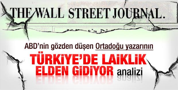 WSJ: Türkiye'de demokrasi tehlikede