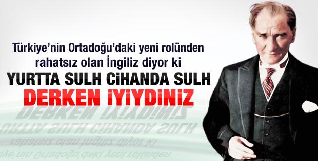 Times: Atatürk haklıydı