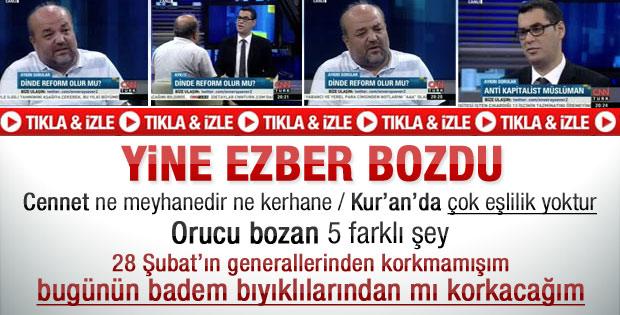 İhsan Eliaçık yine ezber bozdu - Video