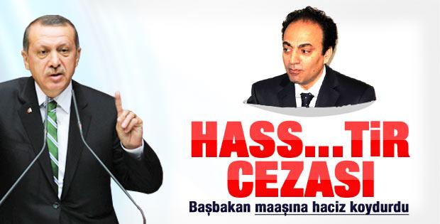 Başbakan'dan BDP'li Baydemir'in maaşına haciz