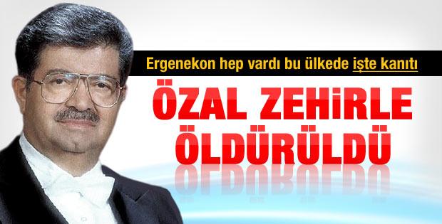 Turgut Özal'ın otopsisinde zehirlenme çıktı