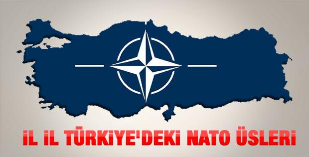 Türkiye'deki NATO harekat ve radar üsleri
