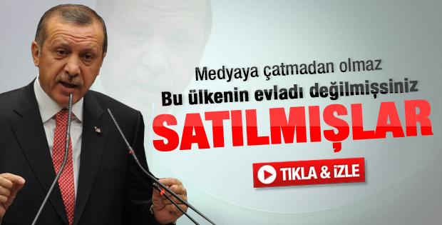 Erdoğan'dan köşe yazarlarına Suriye tepkisi: Dalkavuklar