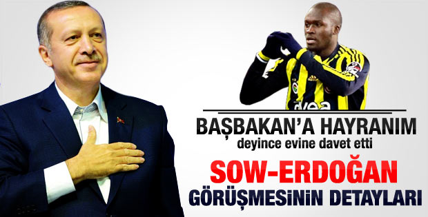 Sow Erdoğan görüşmesinin detayları