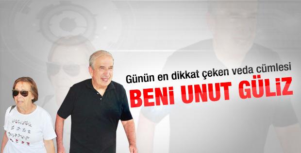 Tutuklanan Kemal Gürüz'den eşine: Beni unut Güliz