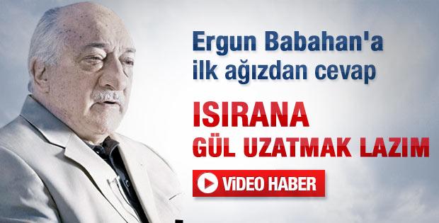 Fethullah Gülen'den Babahan'ın küfrüne ilk yorum