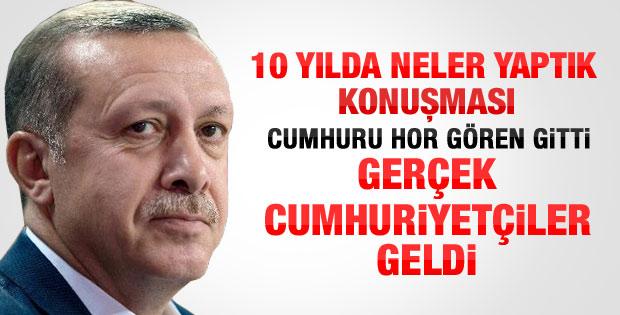 Başbakan Erdoğan'ın Kızılcahamam kampı konuşması