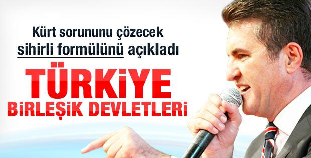 Sarıgül'ün danışmanı: Türkiye Birleşik Devletleri olsun