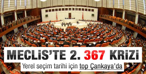 Yerel seçim kanununda 367 krizi
