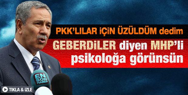Arınç: Cenazelerin Türkiye'ye getirilmesi insani bir olay