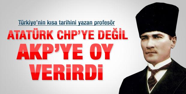Karpat: Atatürk 2011'de AK Parti'ye oy verirdi