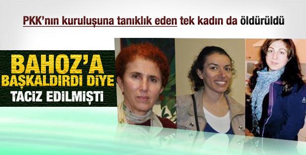 Sakine Cansız PKK'nın kurucularındandı