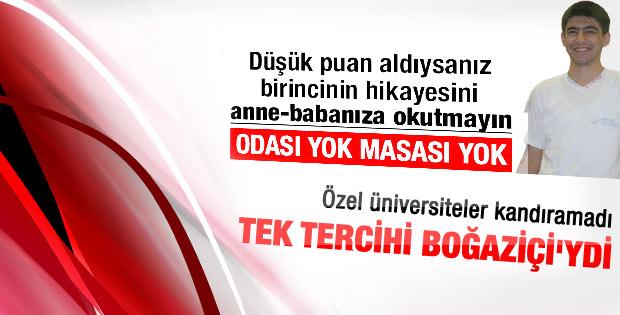 LYS şampiyonu Boğaziçi Üniversitesi'ni kazandı