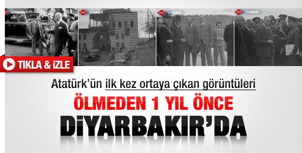Atatürk'ün ilk kez yayınlanan görüntüleri - izle