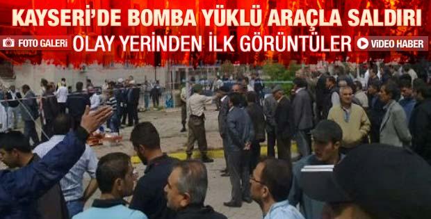 Kayseri'deki patlamadan ilk görüntüler - Galeri