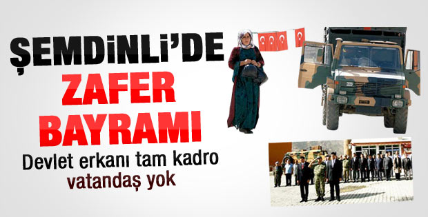 Şemdinli'de Zafer Bayramı